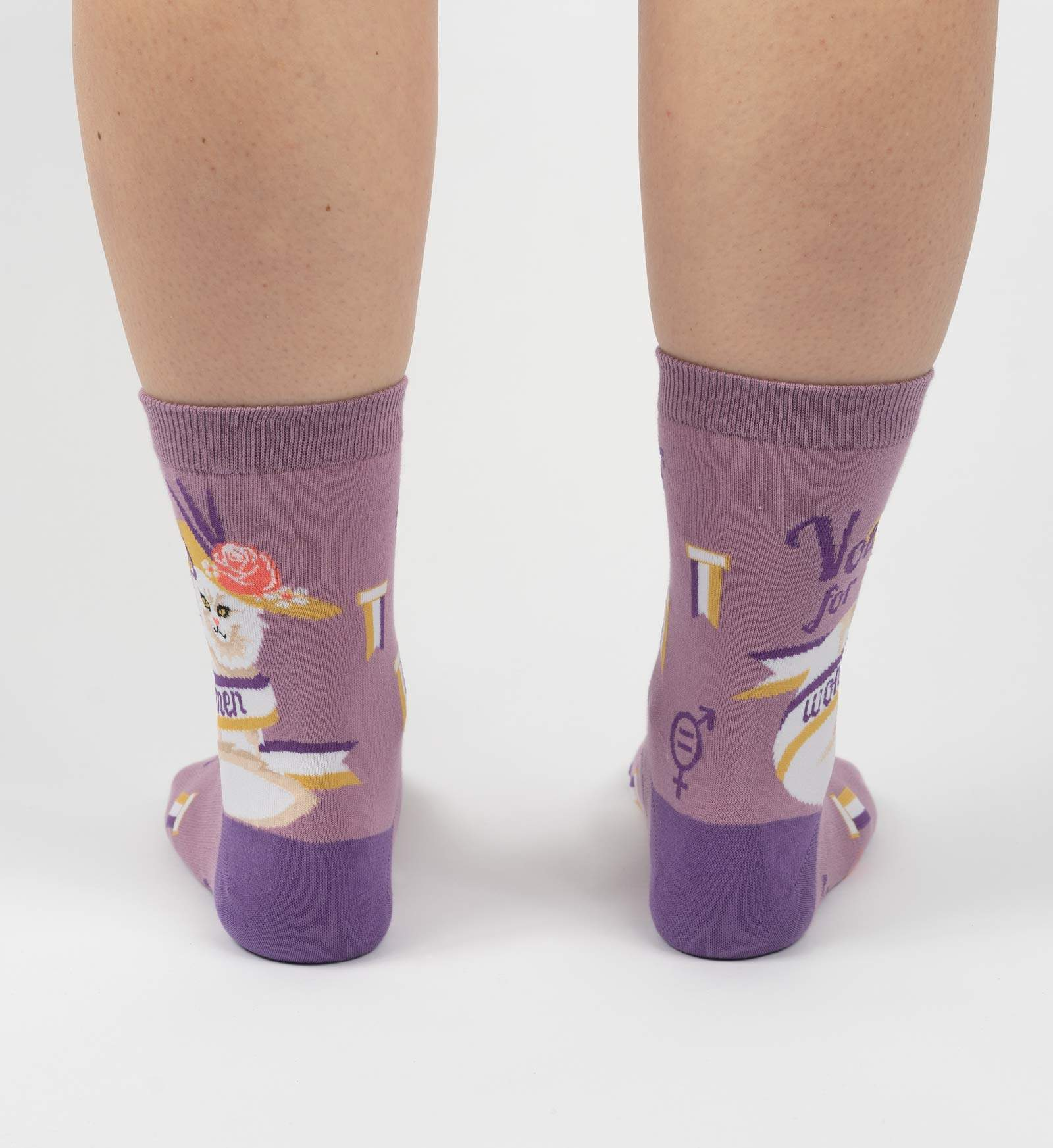 Votes For Women Crew Socks
