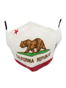 Face Masks California Bear