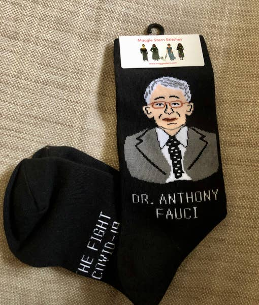 Dr. Fauci Ankle Socks