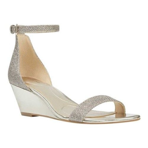Omira Ankle Strap Wedge Sandal