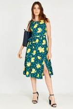 Load image into Gallery viewer, Lemon Skater Dress