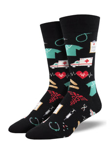 Healthcare Heros Men's Socks