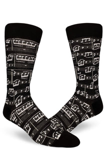 A Genius Composition Men's Crew Socks