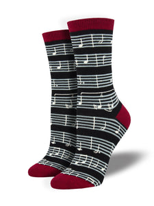 Women's Sheet Music Socks