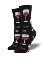Load image into Gallery viewer, Wine Down Socks