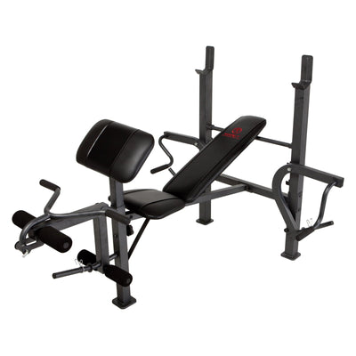 Weight Bench Press with Butterfly