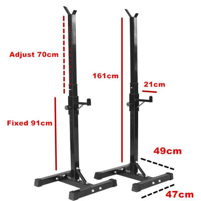 Simple Squat Rack - Great for the Home