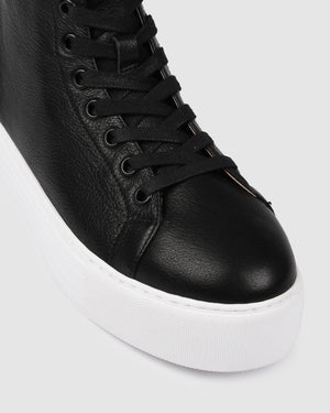 BENNY SNEAKERS BLACK LEATHER