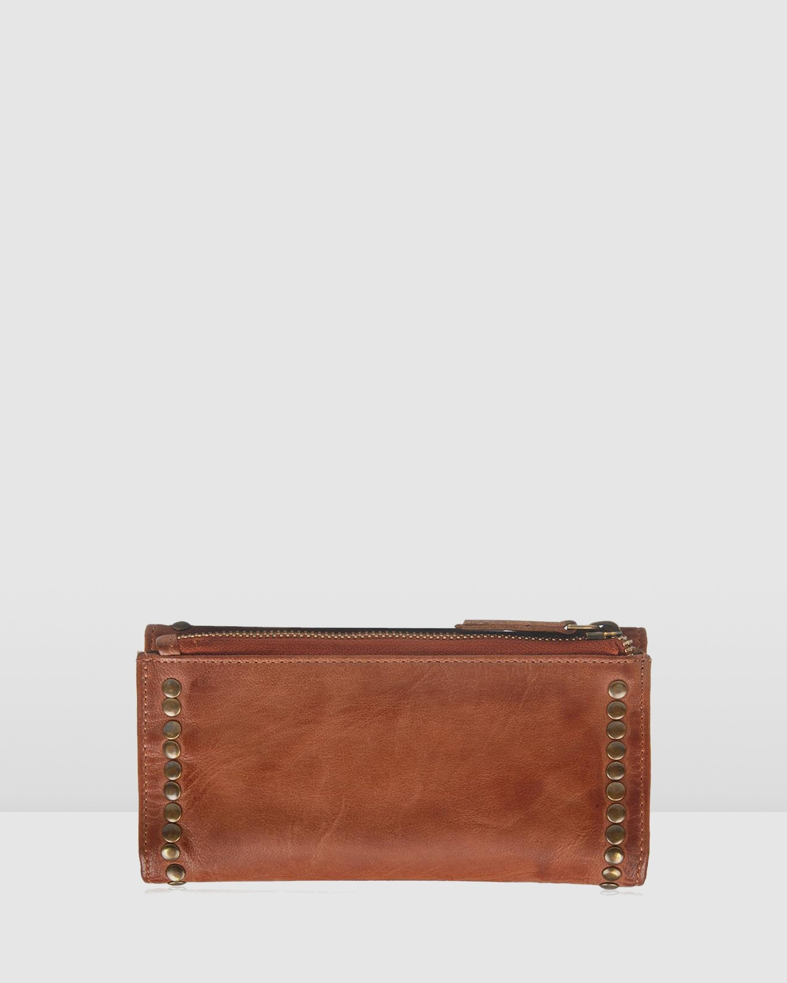 BIBA PORTLAND WALLET TAN LEATHER