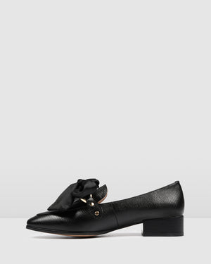 BRANDO LOAFERS BLACK EMBOSS