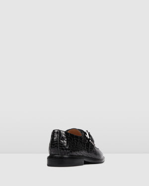 COLLINS LOAFERS BLACK MULTI