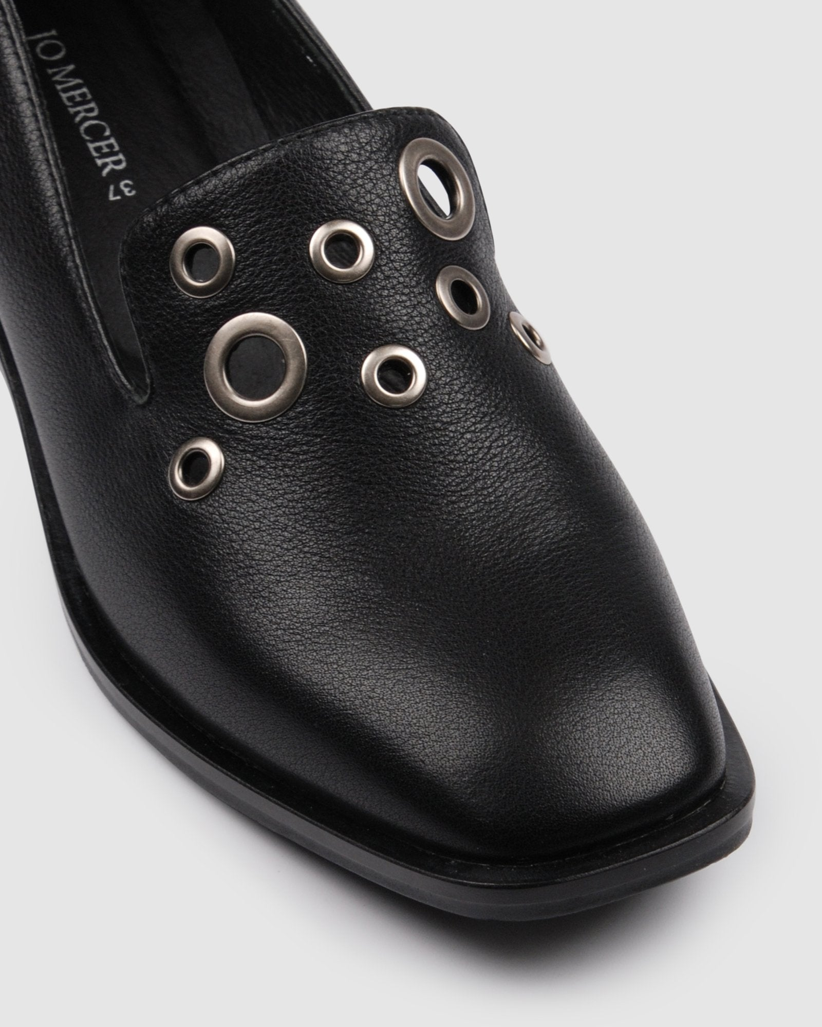DESTINY LOAFERS BLACK LEATHER