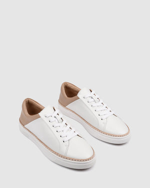 FAZED SNEAKERS WHITE/BEIGE