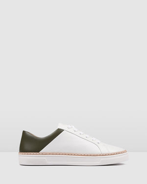 FAZED SNEAKERS WHITE/KHAKI
