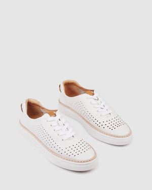 FIFI SNEAKERS WHITE LEATHER