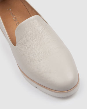 GALWAY LOAFERS BONE LEATHER