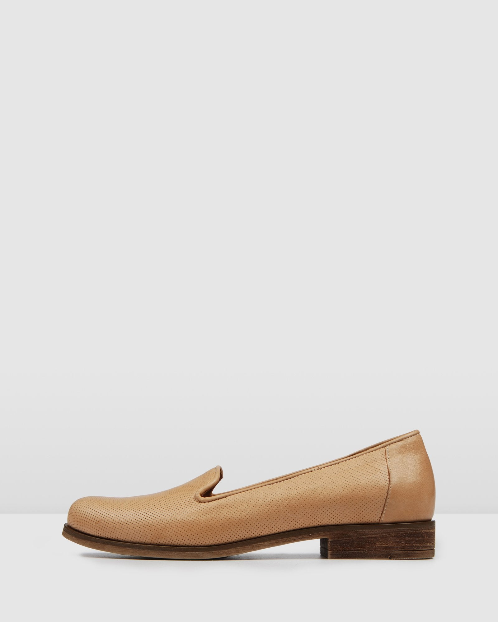 HOLT LOAFERS NATURAL LEATHER