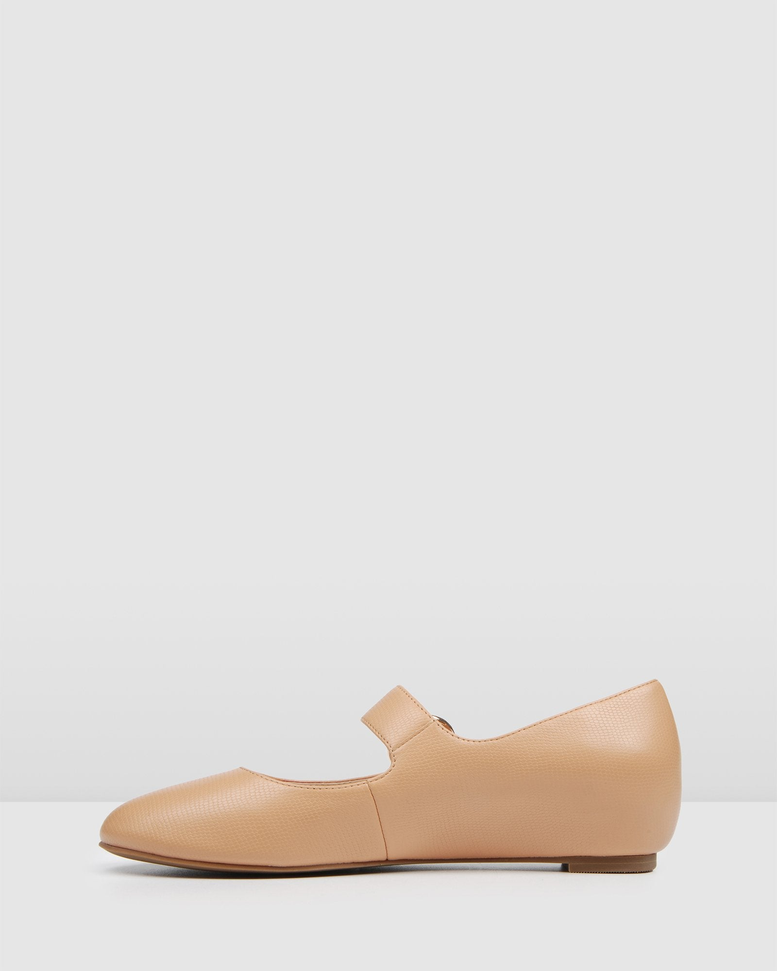 IMPALA DRESS FLATS CAMEL LEATHER