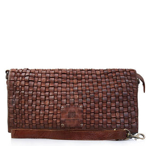 BIBA KANSAS CROSS BODY BAG TAN LEATHER