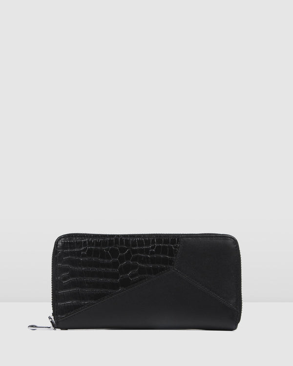 KELSEY WALLET BLACK MULTI