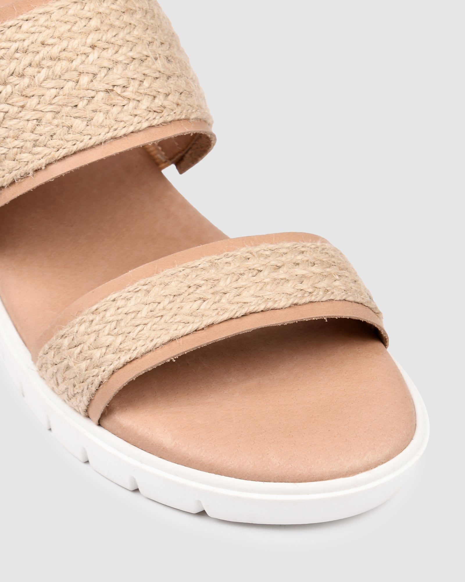 LORI LOW SLIDES NATURAL MULTI