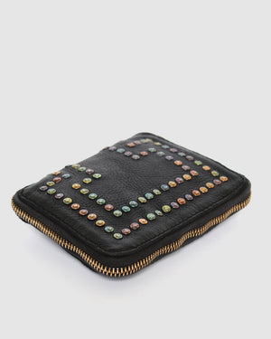 CAMPOMAGGI MONTECARLO WALLET BLACK LEATHER