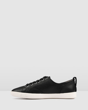 NOAH SNEAKERS BLACK LEATHER