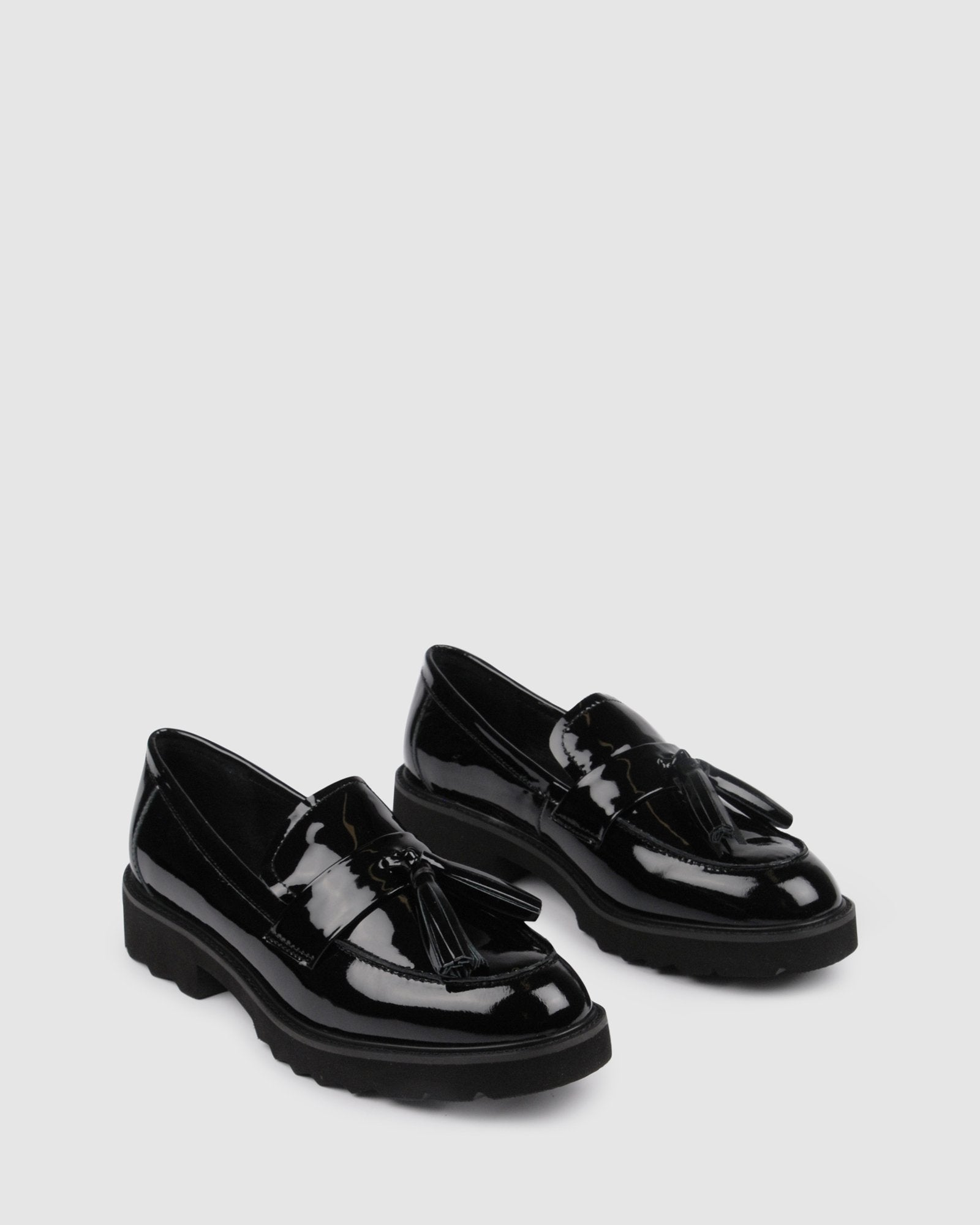 SABLE LOAFERS BLACK PATENT