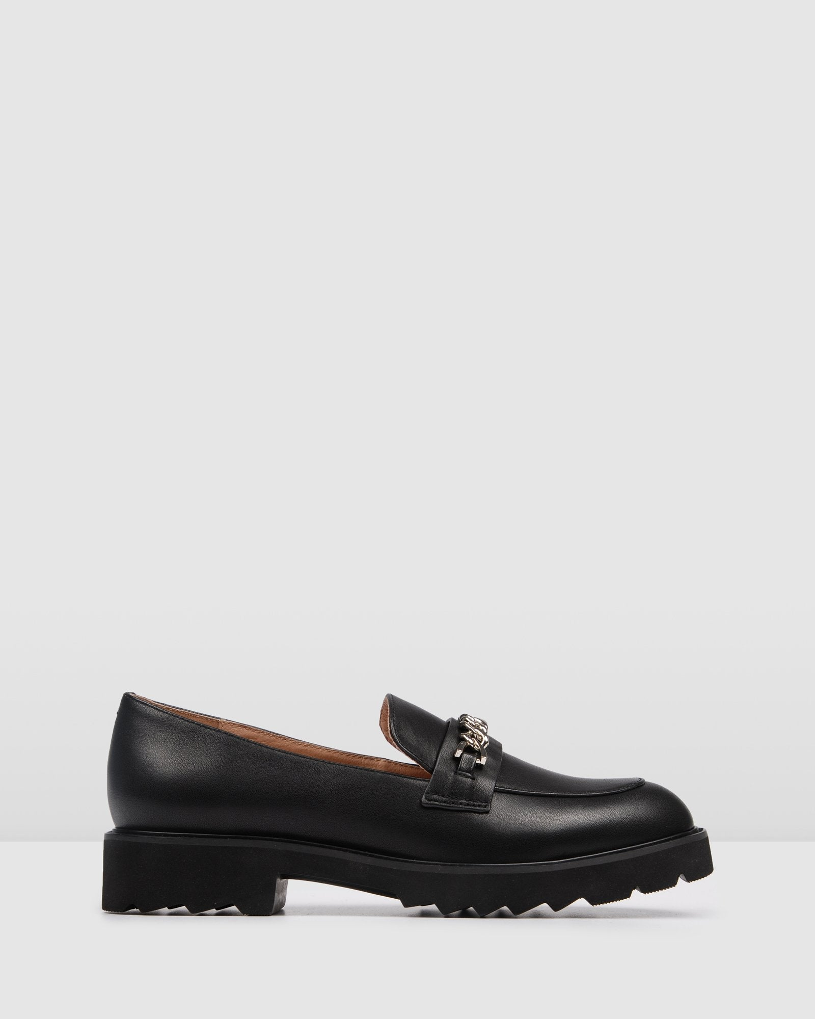 SHILO LOAFERS BLACK LEATHER