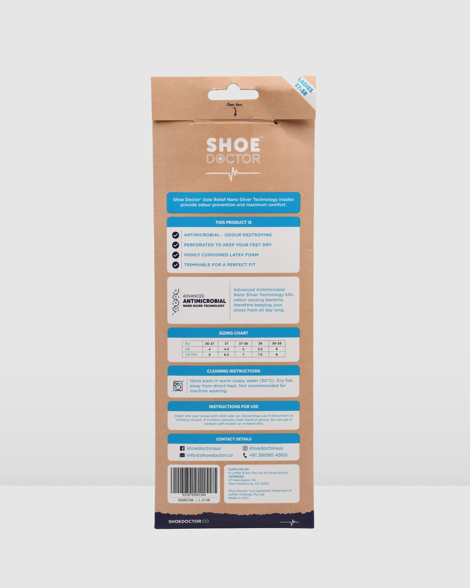 SHOE DOCTOR SOLE RELIEF LARGE