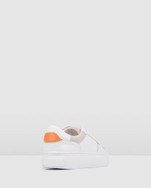 THEO SNEAKERS WHITE LEATHER