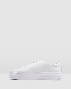 TORA SNEAKERS WHITE LEATHER