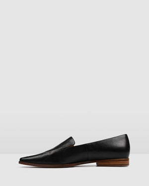 VANCE LOAFERS BLACK LEATHER