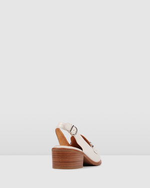 VERMONT LOAFERS BONE LEATHER