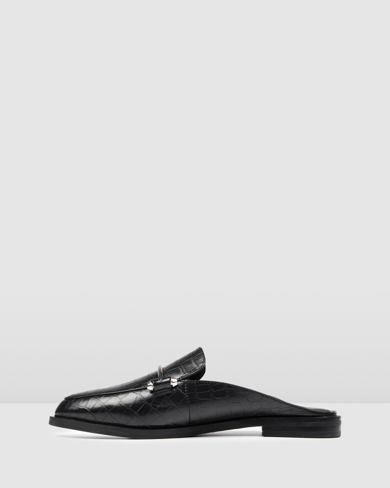 WEBSTER LOAFERS BLACK CROC