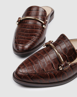 WEBSTER LOAFERS BROWN CROC