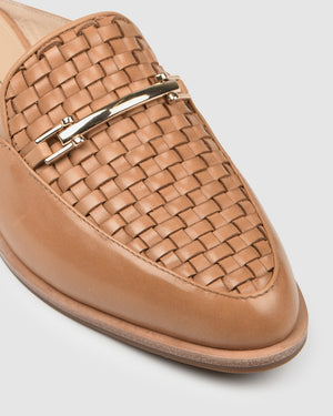 WILLA LOAFERS TAN LEATHER