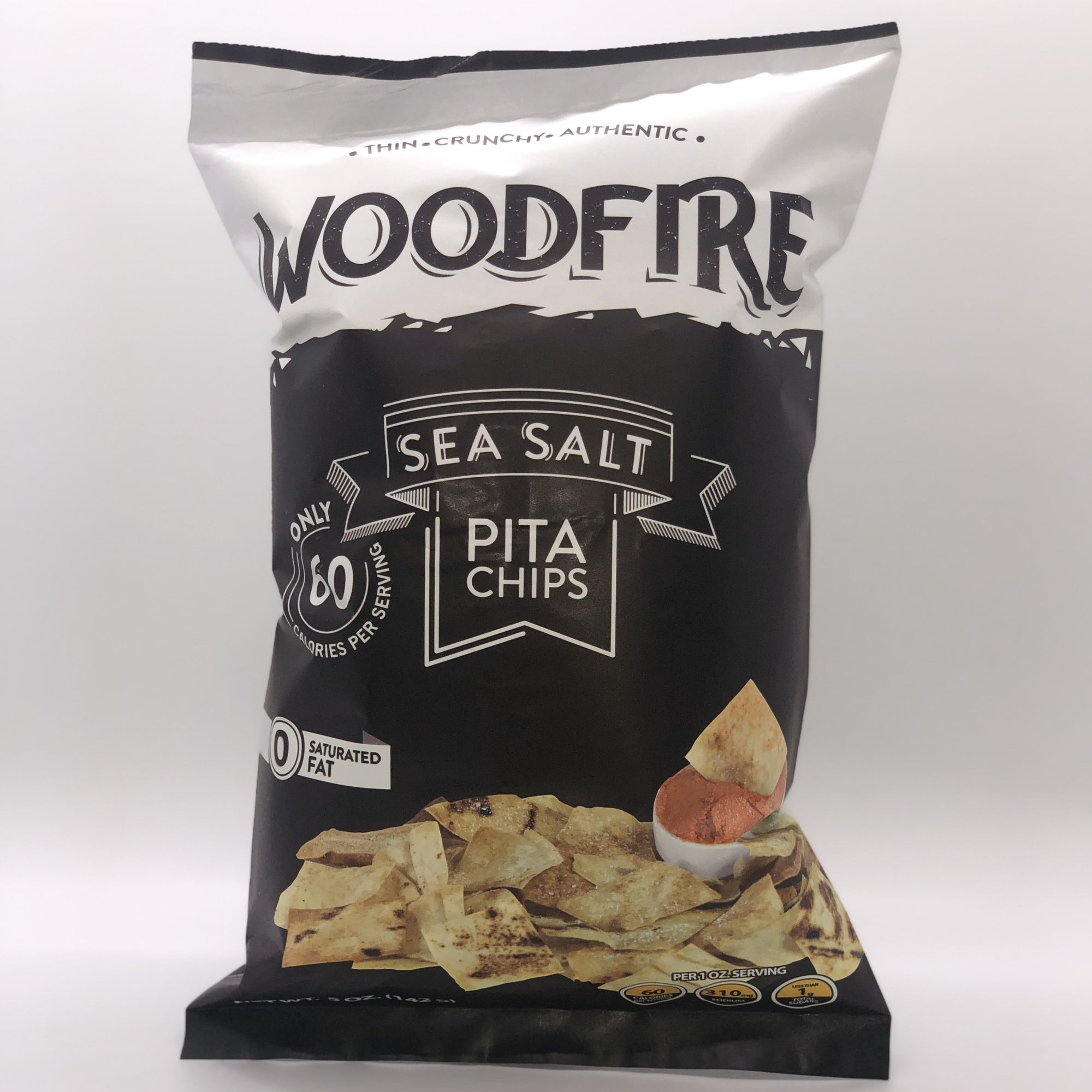 Seasalt Pita Chips - Regular Size (12 Pack)