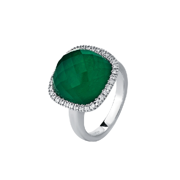 18ct Gold Emerald Rings