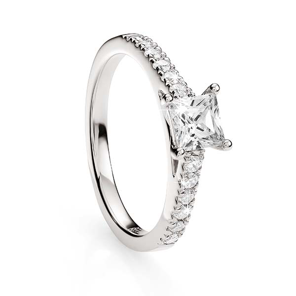 18ct White Gold 1.00ct Diamond Ring
