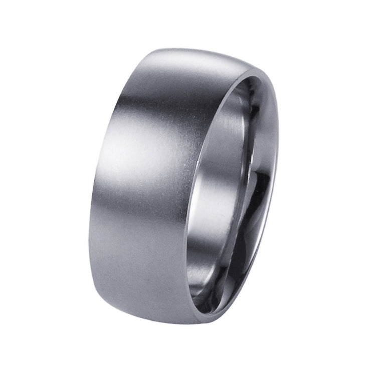 Brushed Stainless Steel Ring