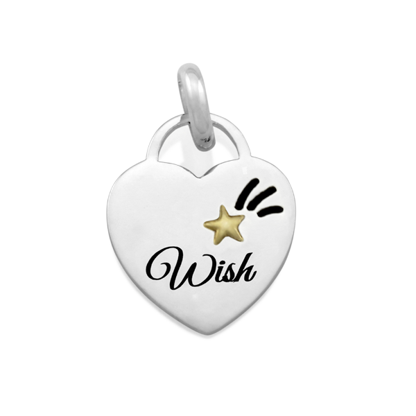 CANDID 'Wish' disc pendant