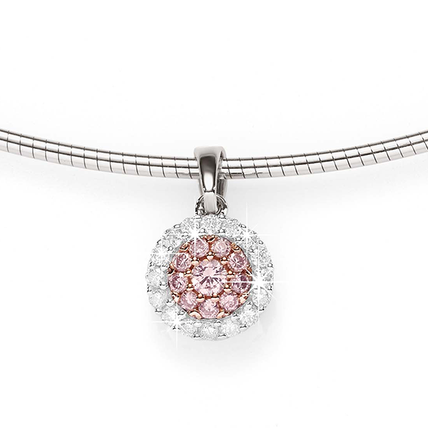 Desert Diamonds 9ct Pink Diamond Pendant