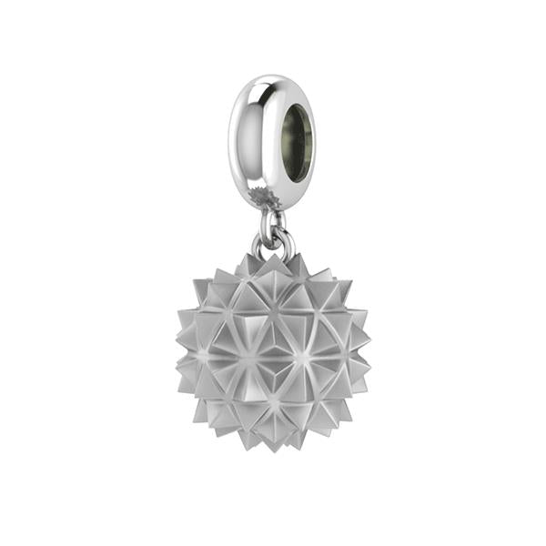 Endless Morning Star Drop Silver Bracelet Charm