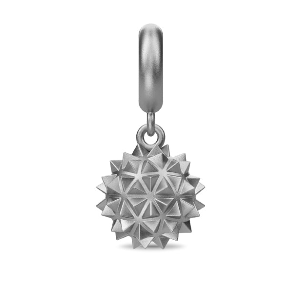 Endless Morning Star Drop Silver Charm