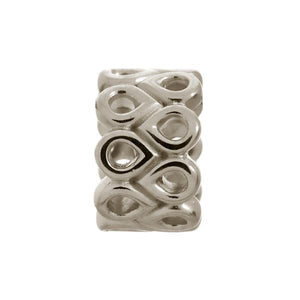 Endless Twist Silver Charm