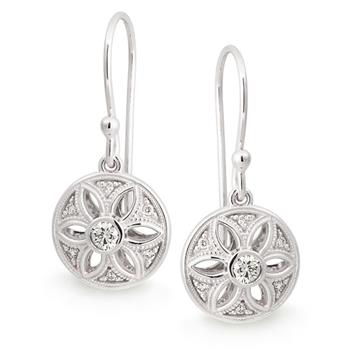 MMJ - Diamond Bezel/Claw Set Diamond Earring