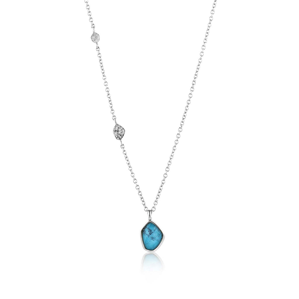 Ania Haie Mineral Turquoise Pendant Necklace 46-51cm