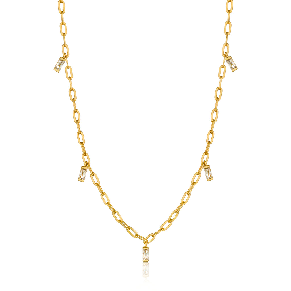 Ania Haie Glow Getter Drop Necklace 35-40cm