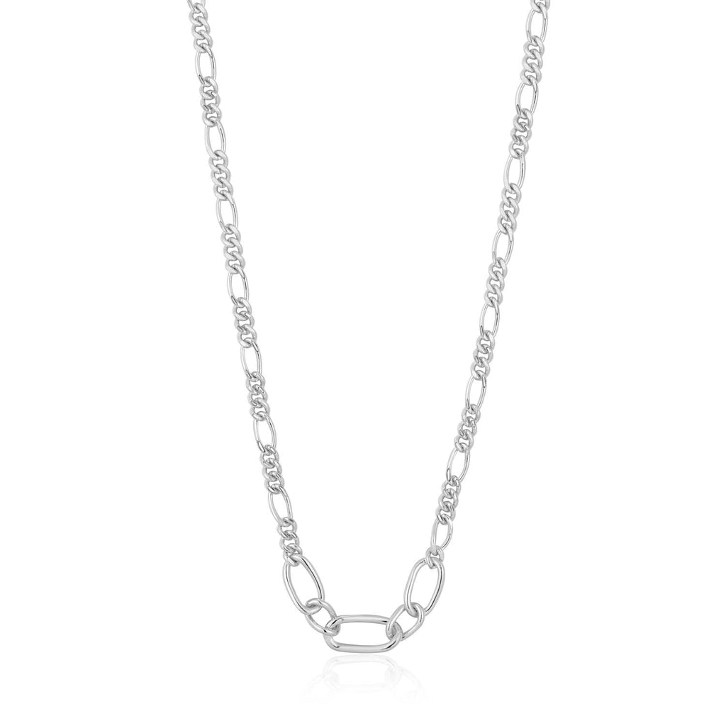 Ania Haie Chain Reaction Figaro Chain Necklace 40.5cm